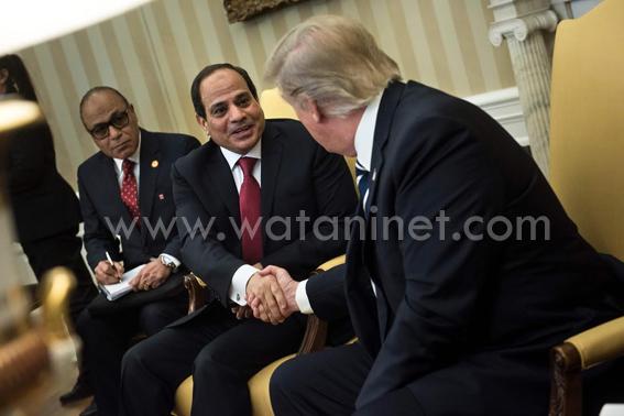 محاربة الارهاب قاربت بين السيسى وترامب واعادة العلاقات بعد حقبة اوباما (8)